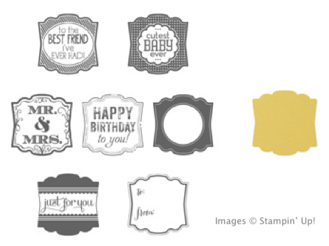 Click here to order the Label Love Bundle from my Online Stampin' Up! Store