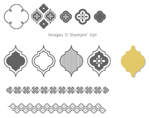 Click here to order Mosaic Madness Bundle from my Online Stampin' Up! Store