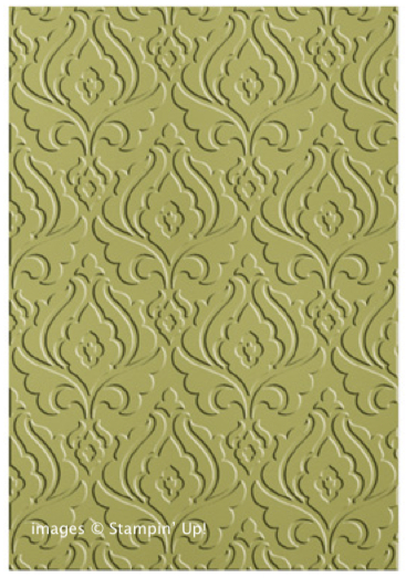 Click here to order the Beautifully Baroque Embossing Folder from Stampin' Up!