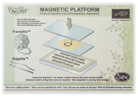 Click here to order the Big Shot Magnetic Platform from my Online Stampin' Up! Store