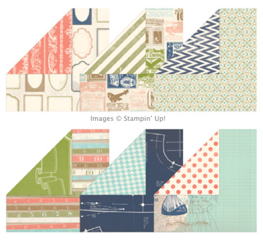 Click here to order Etcetera DSP from Stampin' Up!