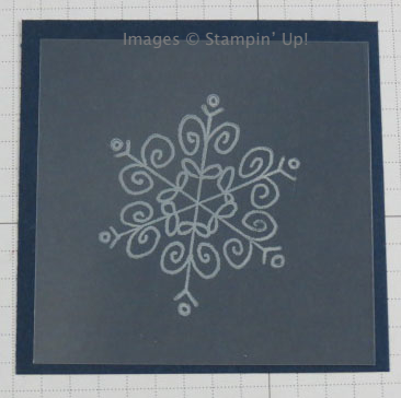 White StazOn Ink on Window Sheet from Stampin' Up!