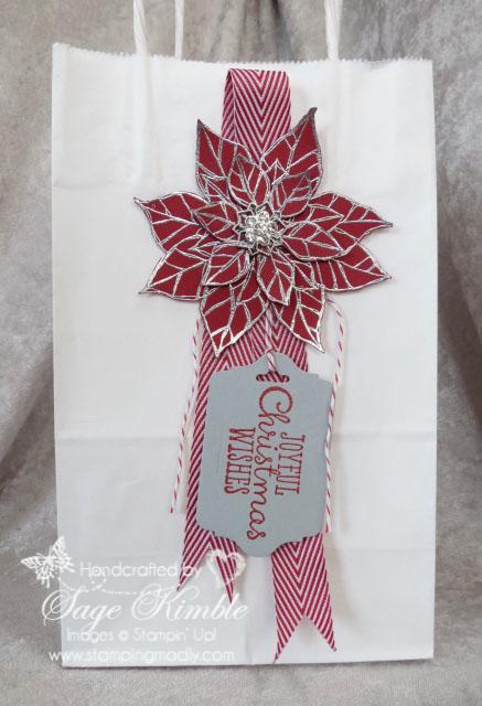 Simple Christmas Gift Bag
