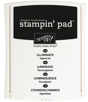Illuminate Glimmer Watermark Ink Pad from Stampin' Up!