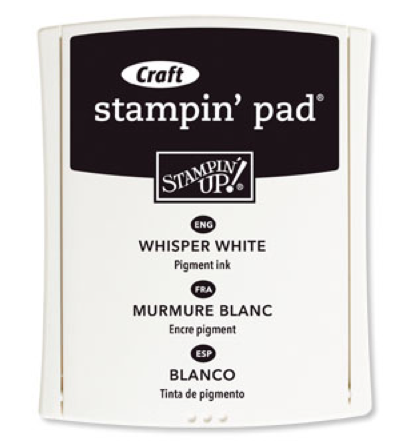Whisper White Craft Ink Pad from Stampin' Up!