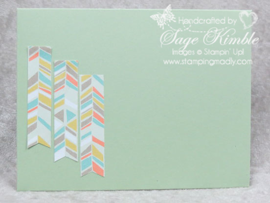 Handmade Envelope created with the Envelope Punch Board from Stampin' Up!