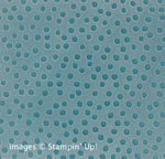Decorative Dots Embossing Folder FREE during Sale-a-Bration