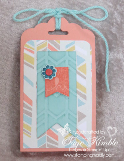 Spring Treat Holder from Stamping Madly
