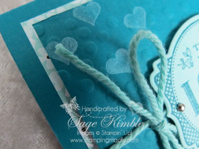Design Tips for using Designer Series Paper in your handmade cards