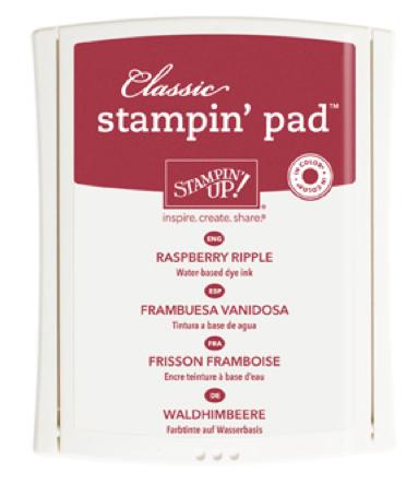 Raspberry Ripple Ink Pad