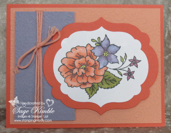 I Like You stamp set colored with Blendabilities from Stampin' Up!