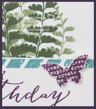Free instructions for Butterfly-Basics- Birthday Card from Stamping Madly
