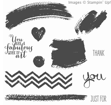 Work of Art stamp set from Stampin' Up!