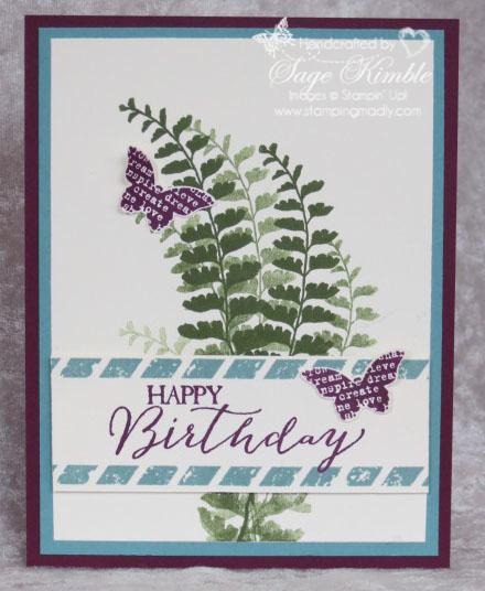 Butterfly Basics Birthday Card