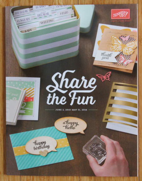 2015-2016 Annual Catalog from Stampin' Up!