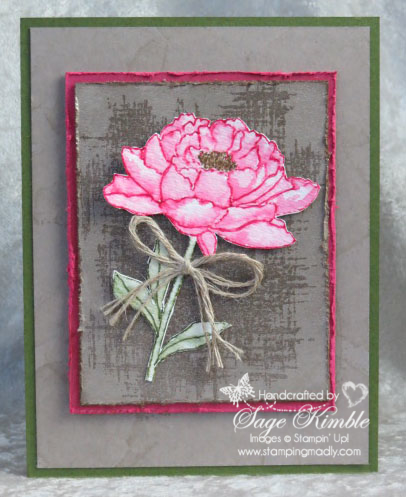 Handmade all-occasions card from Stamping Madly, using You've Got This stamp set from Stampin' Up!