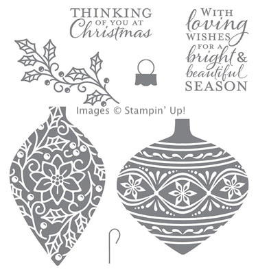 Embellished Ornaments Stamp Set from Stampin' Up!