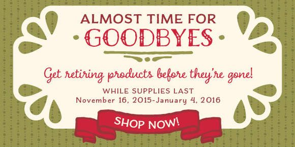 Click here to view the retiring cardmaking and paper crafting items from the 2015 Holiday Catalog from Stampin' Up!