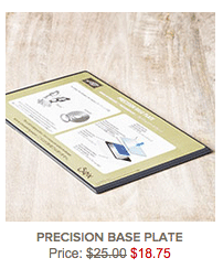 Precision-Base-Plate 25% off from Stampin' Up thru December 14th