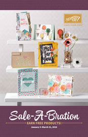 Click here to request Stampin' Up!'s 2016 Sale-a-Bration Catalog from Stamping Madly
