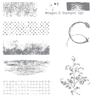 Timeless Textures stamp set from Stampin' Up1