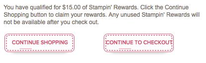 Claim rewards