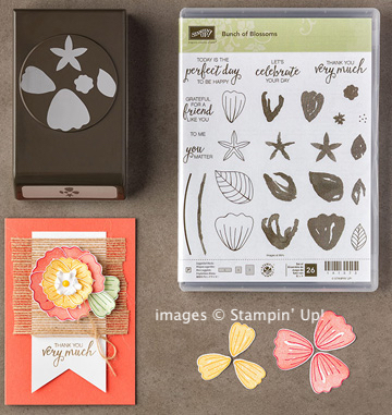 Click here to order the Bunch of Blossoms Bundle from Stampin' Up!