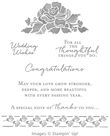 Floral Phrases stamp set from Stampin' Up!