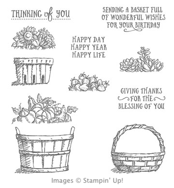Click here to order the Basket of Wishes photopolymer stamp set from Stampin' Up!