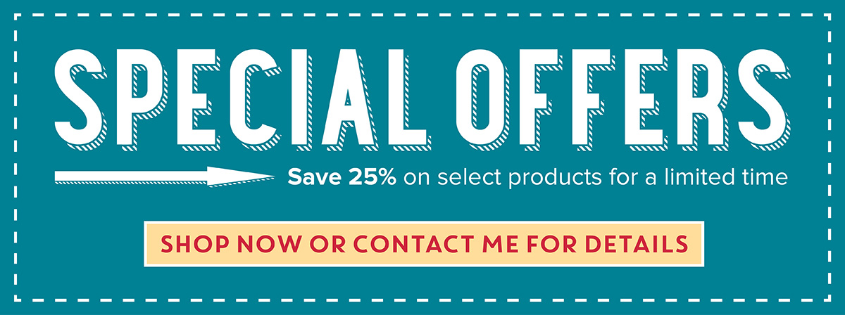 25% off select paper crafting supplies from Stampin' Up!
