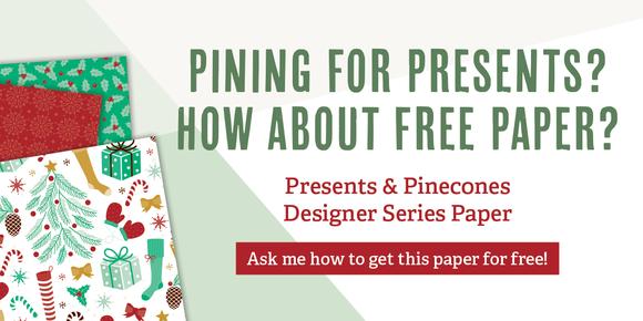 Stampin' Up! Designer Series Paper: Buy 3 Get 1 Free! through Oct. 31st!