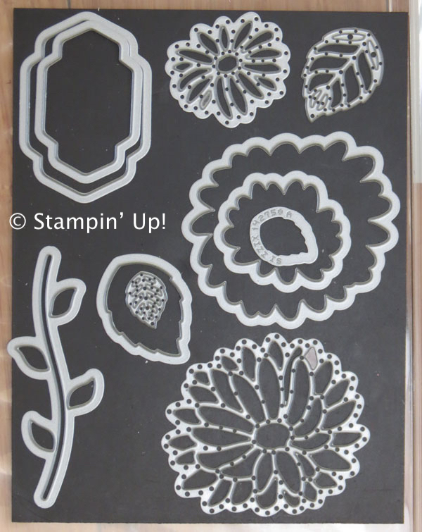 Stylish Stems Framelits from Stampin' Up! 2017 Occasions Catalog