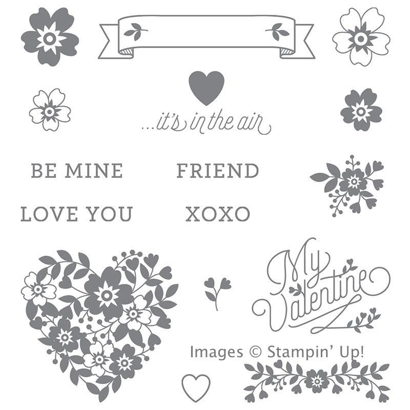 Bloomin' Love stamp set