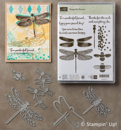 Bundle and save 10% on the Dragonfly Dreams Bundle from Stampin' Up!
