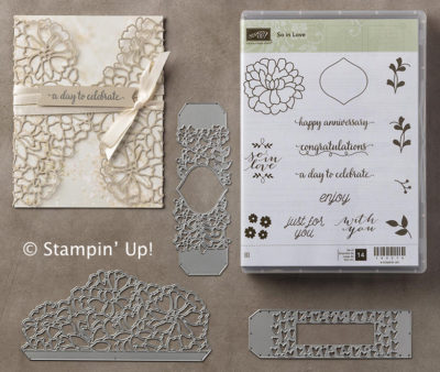 Bundle and save 10% on the So in Love Bundle from Stampin' Up!