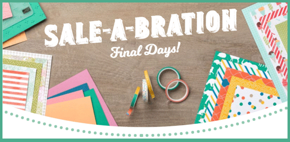 7 new items added to Sale-a-Bration for the Final Days!