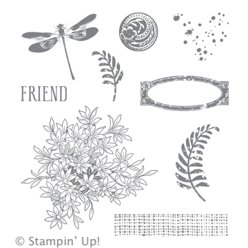 Awesomely Artistic Stamp Set from Stampin' Up!