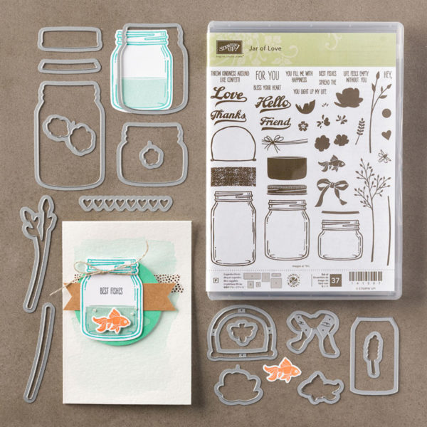 Order Jar of Love Bundle now to receive 10% Discount from Stampin' Up!