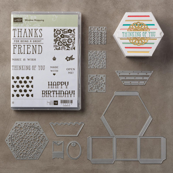 Retiring Stampin' Up! Product Window Shopping Bundle is Low Inventory and will sell out soon