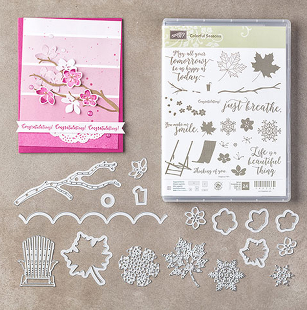 Colorful Seasons Bundle from Stampin' Up! 2017 Annual Catalog