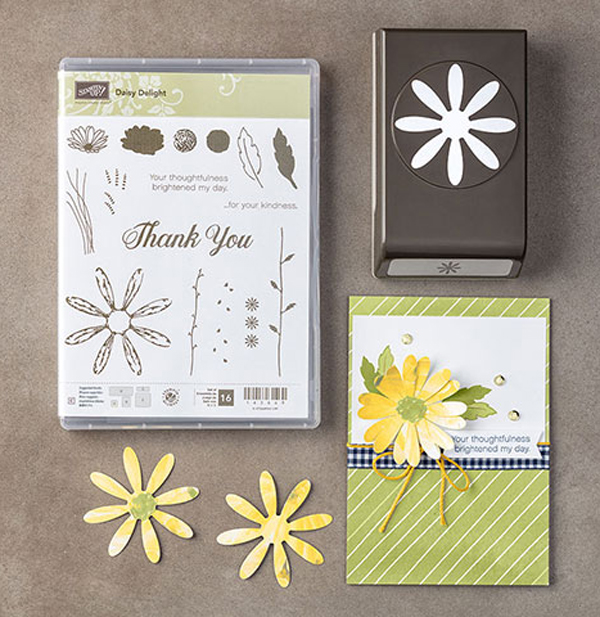 Daisy Delight Bundle from new Stampin' Up! 2017 Annual Catalog