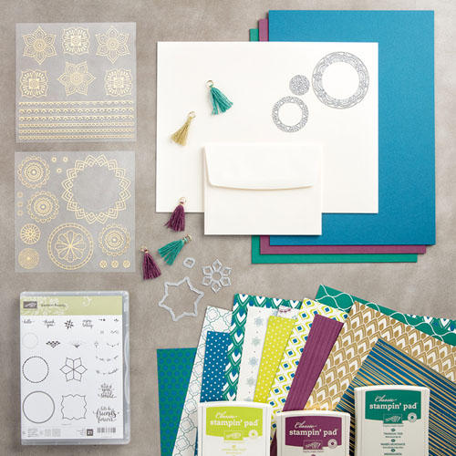Eastern Palace Premier Bundle from Stampin' Up! available through May 31st