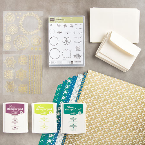 Early Release of Eastern Palace Bundles from Stampin' Up!
