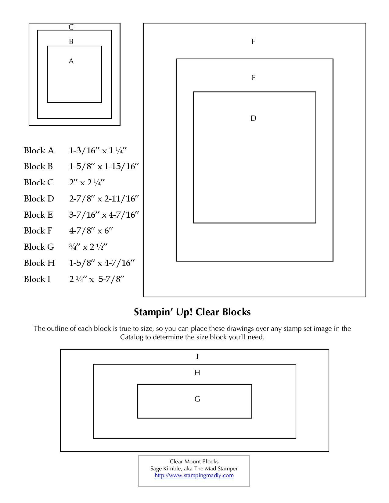 Clear Block Template
