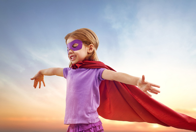Superhero papercrafter ready to tackle challenge of paring down her supplies