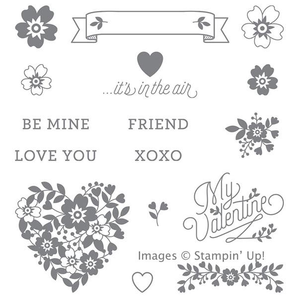 Bloomin' Love stamp set-600
