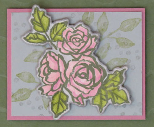 Stampin' Blends Coloring Tips from Stamping Madly
