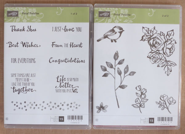 Petal Palette Stamp Set from Stampin' Up!