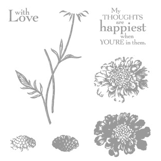 Click here to order Field Flowers from Stampin' Up!