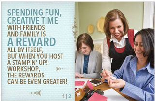 Free Merchandise When You Host a Stampin' Up! Workshop!